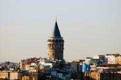 A torre de Galata foto de stock royalty free