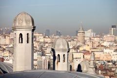 Torre de Galata Imagen de archivo libre de regalías
