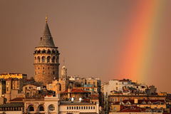 Torre de Galata Foto de Stock Royalty Free