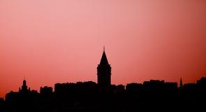 Torre de Galata Fotos de archivo libres de regalías