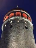 A torre de Galata fotografia de stock