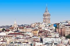 A torre de Galata Fotografia de Stock Royalty Free