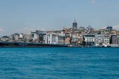 Torre de Galata em Istambul Fotografia de Stock Royalty Free