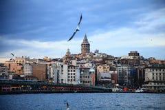 Torre de Galata em Istambul Imagem de Stock Royalty Free