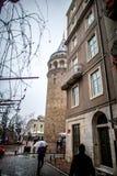 Torre de Galata en el pavo de Estambul Fotos de archivo libres de regalías