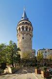 Torre de Galata en Estambul Fotografía de archivo