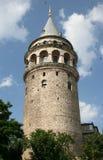Torre de Galata en Estambul Imagen de archivo