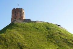 Torre de Gediminas Foto de archivo
