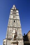Torre de Ghirlandina Fotos de archivo libres de regalías
