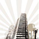 Torre de Grunge Fotos de archivo