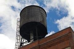 Torre de ?gua do vintage NYC Imagens de Stock Royalty Free