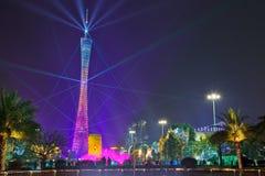Torre de Guangzhou em 2016 anos novos lunares 2 Foto de Stock