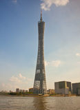 Torre de Guangzhou, porcelana Foto de Stock Royalty Free