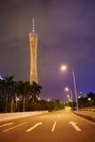 Torre de Guangzhou TV Foto de archivo