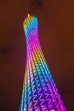 Torre de Guangzhou TV Fotos de archivo