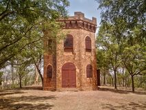 Torre de guardia colonial Imagen de archivo libre de regalías