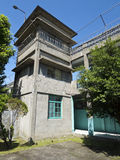 Torre de guardia de Jing-Mei Human Rights Memorial y del parque cultural Imagen de archivo