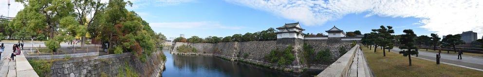 Torre de guardia de Osaka Castle, Osaka Imagenes de archivo