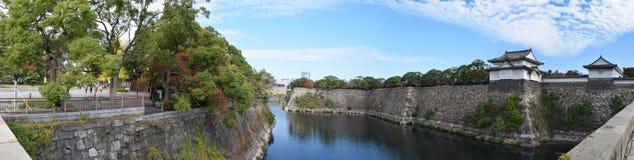 Torre de guardia de Osaka Castle, Osaka Fotografía de archivo