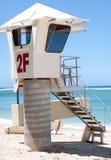 Torre de guardia de vida Fotografía de archivo libre de regalías