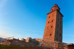 Torre de Hércules Fotos de archivo