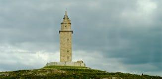 Torre de Hércules Foto de archivo libre de regalías