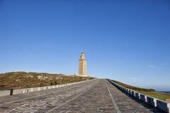 Torre de Hércules Imágenes de archivo libres de regalías