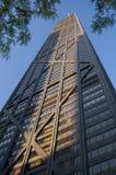 Torre de Hancock en la puesta del sol Fotografía de archivo