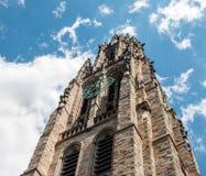 Torre de Harkness, Yale University imagen de archivo