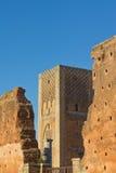 Torre de Hassan Fotos de archivo libres de regalías