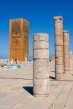 A torre de Hassan. Fotografia de Stock Royalty Free