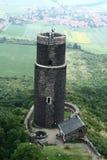 Torre de Hazmburk Foto de archivo libre de regalías