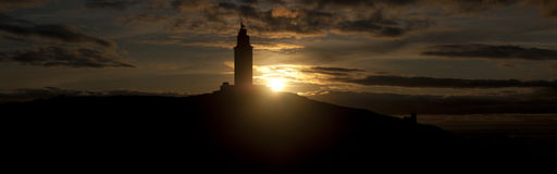 Torre de hercule Images libres de droits