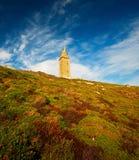 torre de hercules Стоковое Фото