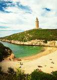 Torre de Hercules Royalty Free Stock Photo