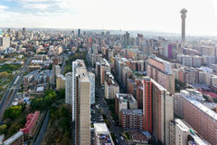 Torre de Hillbrow - Joanesburgo, África do Sul foto de stock royalty free