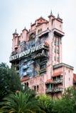 Torre de Hollywood del terror imágenes de archivo libres de regalías