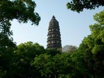 Torre de Huqiu Fotografía de archivo