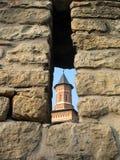 Torre de iglesia Fotos de archivo libres de regalías