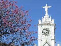 Torre de iglesia Imagenes de archivo