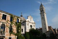 Torre de iglesia Imágenes de archivo libres de regalías