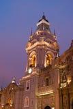 Torre de iglesia Imagen de archivo libre de regalías