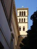 Torre de iglesia Fotos de archivo