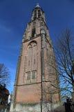 Torre de iglesia de Amersfoort, Holanda Fotografía de archivo