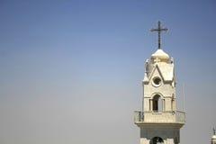 Torre de iglesia bethlehem fotografía de archivo libre de regalías
