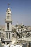 Torre de iglesia bethlehem foto de archivo