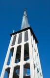 Torre de iglesia de Bodø Foto de archivo libre de regalías