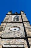 Torre de iglesia de piedra a partir de 1824 Foto de archivo