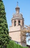 Torre de Iglesia de Santa Maria Ronda, Andalucía, España Fotografía de archivo libre de regalías