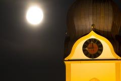 Torre de iglesia de Schwandorf Fotos de archivo libres de regalías